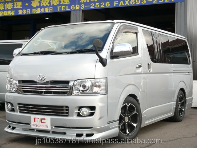 Right hand drive and japanese toyota hiace van automatic at reasonable prices made in Japan