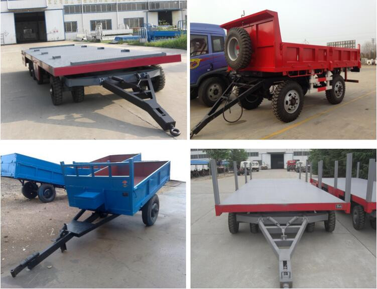 Strong corrosion resistance pass CCC cheap truck trailers sale