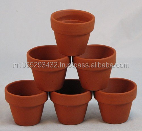 MINI CLAY FLOWER TERRACOTTA POT