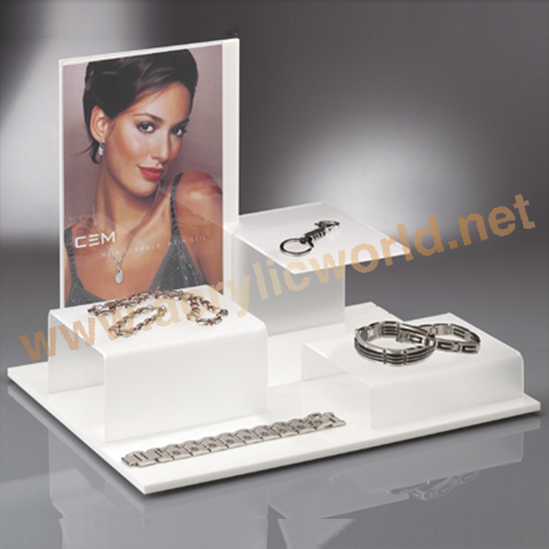 countertop rotating jewelry display stand