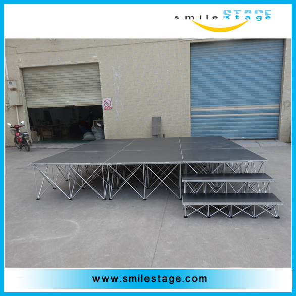 watching area portable mobile indoor stage