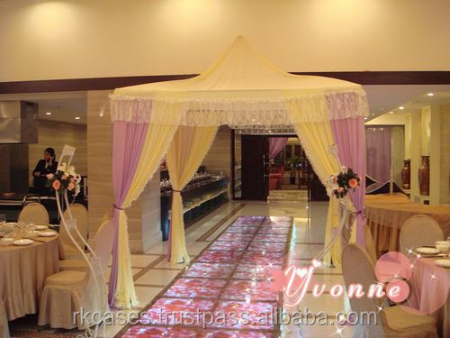 aluminum cheap adjustable pipe and drape rental nyc for wedding mandap