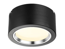 Singapore, 8inch 22W flush mount led downlight lite, White or Black finish, flush mount led downlight fitting