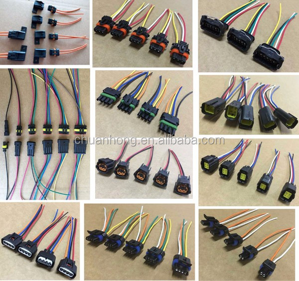 Fuse box 12 Circuit Universal Wire Harness kits Muscle Car hot rod street rod XL wires