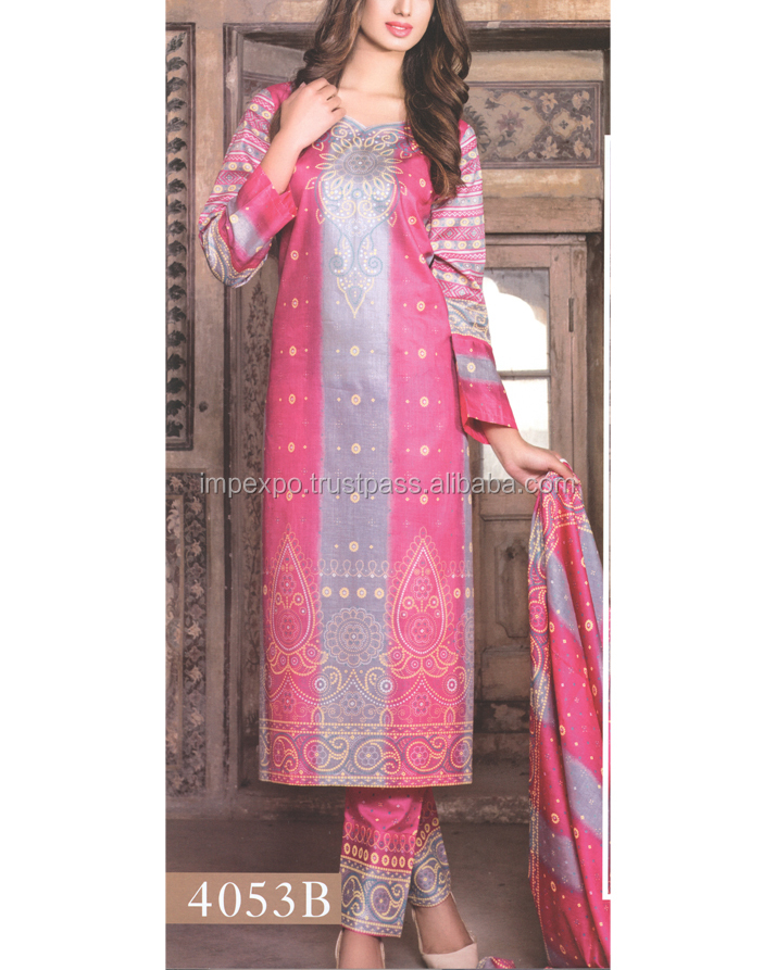 Pakistani printed lawn dresses / pakistani lawn designers suits in Lahore