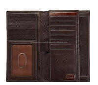 Real leather bi fold Wallets
