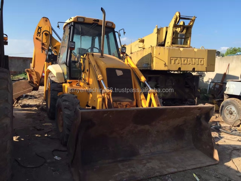 High-quality Used Jcb 3cx Backhoe loader,cheap Jcb 3cx for sale 4 in 1 bucket
