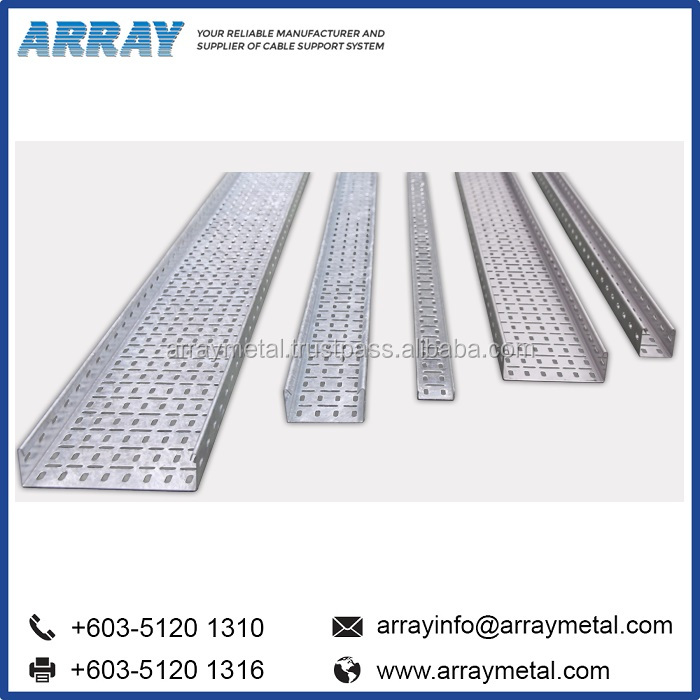 Aluminium HDG Stainless Steel Cable Tray