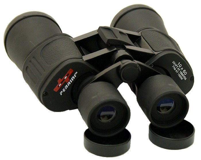 10X60 Zoom Perrini Optic Black Binocular