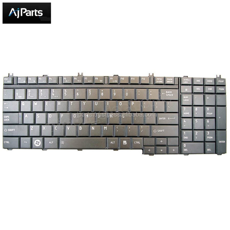 High quality For Toshiba Satellite L350 L355 P300 series laptop keyboard US UK SP RU PO layout