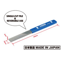 Pro quality compact plastic cutting file for model aircraft made in Japan