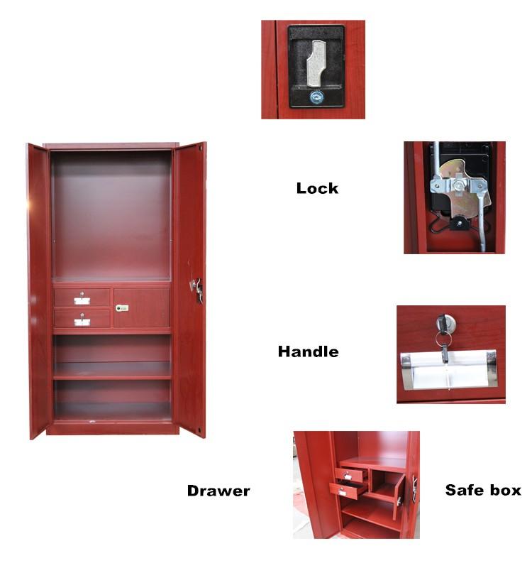 Steel wardrobe bedroom almirah designs indian wardrobe for Bedroom almirah designs india