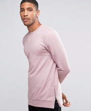 side zip men long sleeve sweatshirts without hood