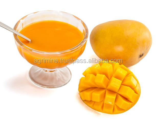 fresh Totapuri mango pulp