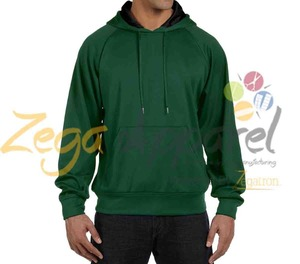 Zegaapparel sleevel athletic pullover 100% pre-shrunk cotton hoodies