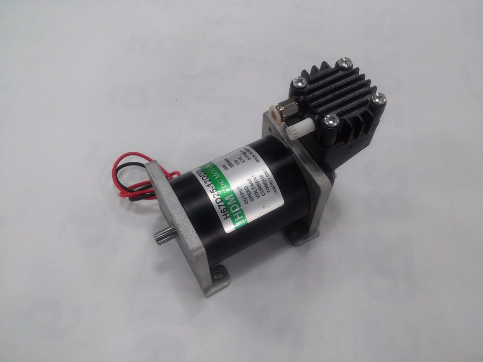 oil free silent piston type mini air compressor 2bar 3bar 4bar Dc motor