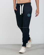 Lace-Up Low-Slung Crotch Beam Feet Jogger Sweat Pants