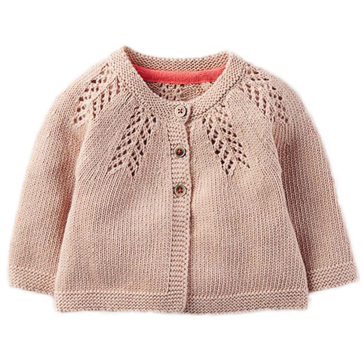Wholesale latest cotton knitting children kid sweater for girl