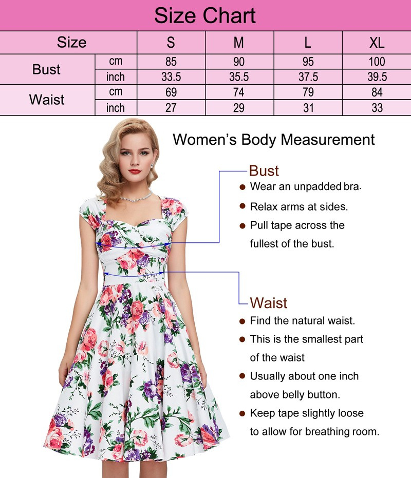 Grace Karin Sexy Halter Cotton Cheap Women 50s Vintage Retro Dress CL6075-26#