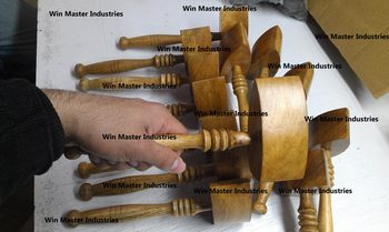 MASONIC REGALIA WORKING TOOLS MASONIC WOODEN GAVELS JUDGE HAMMERS BLOCK IN OAK WOOD