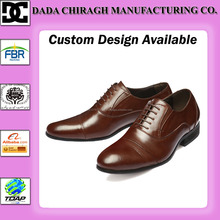 PAKISTANI LEATHER HANDMADE OXFORD SHOES FOR MEN