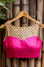 machine embroidery designs of saree blouse neck