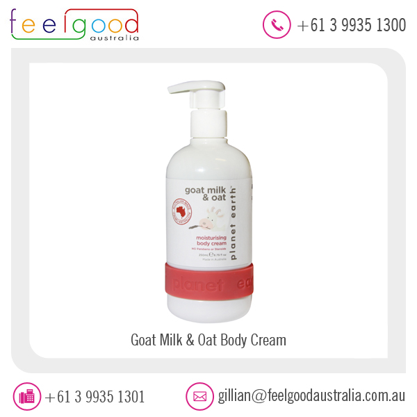 Goat Milk and Oat Body Cream for Healthy Skin Available