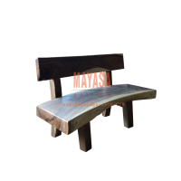Solid Suar Wood Bench Easy Assembled