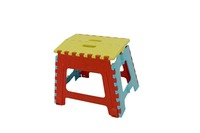 Hot sell folded plastic stool chair, step stool plastic chair pp plastic