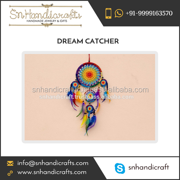 2017 New Collection of Handmade Crochet Dream Catcher for Sale