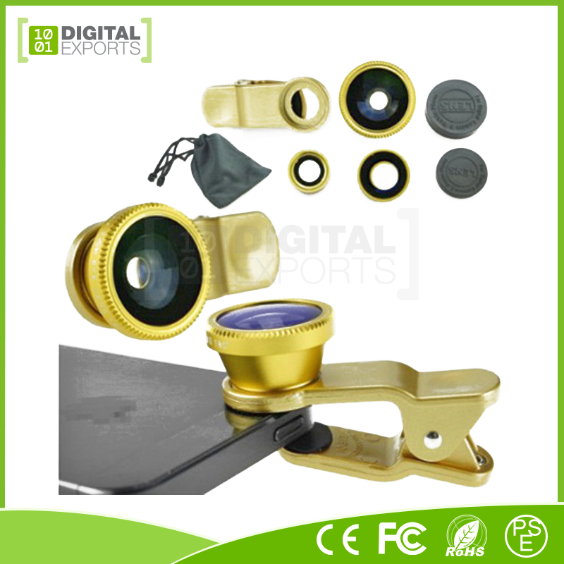 Hot selling smart phone lens clip, 37mm wide angle lens, super phone lens