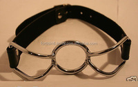 Outop Bondage Spider Open Mouth O-ring Gag Head Harness Restraint/ Bondage Medical SEX TOYS/Medical products