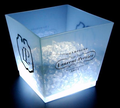 Square Shape Ice Bucket with LED lights
