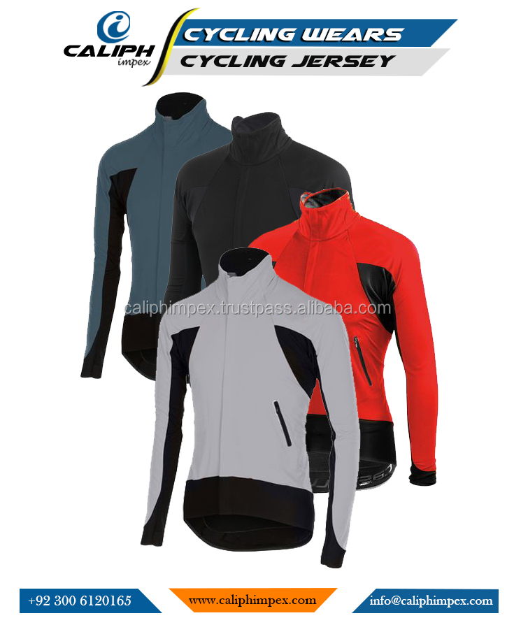 Long sleeve Cycling jersey Top Bike Clothing Men Cycling Wear Custom shirts