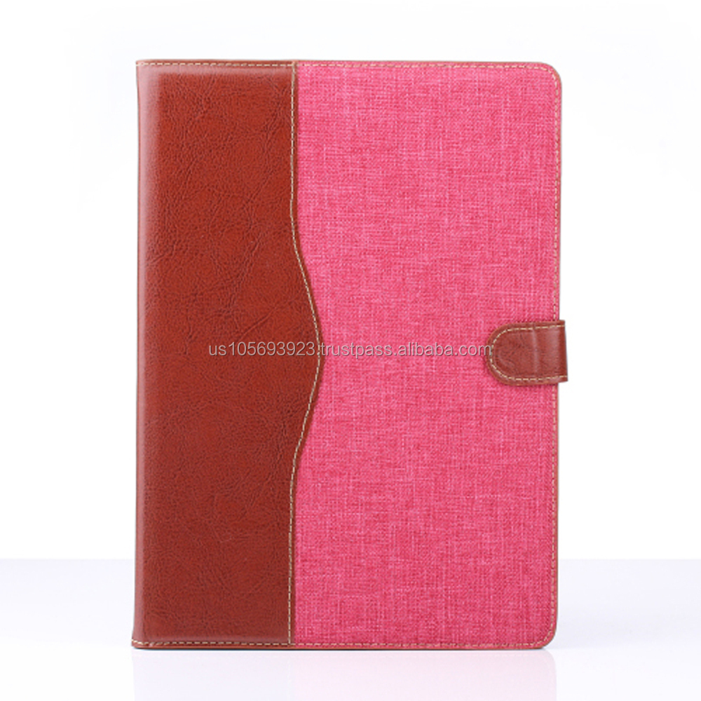 IMPRUE Case Luxury A Quality Leather Case For iPad Air 2 With Wallet /Credit