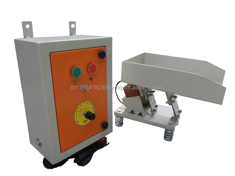 Electomagnetic vibrator feeder