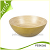 Vietnam 2016 Good Price High Quality Spun Bamboo Salad bowl & bamboo Peanut Bowl