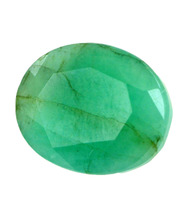 Oval Faceted Brazil 6.64 Ct Emerald Gemstone Toronto