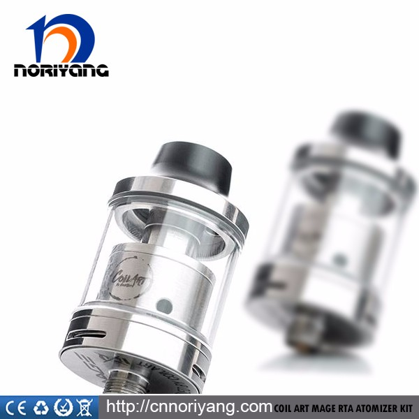 Wholesale 3.5ml silver Mage rta atomizer by Coil Art