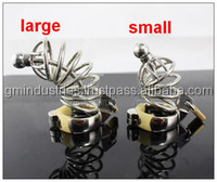 New Male Stainless Steel cock Cage+Catheter Bondage Chastity Belt Device toys SM Fetish Large,Small