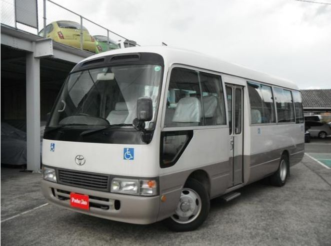 Durable and Good condition used toyota coaster 30 seater bus at reasonable prices