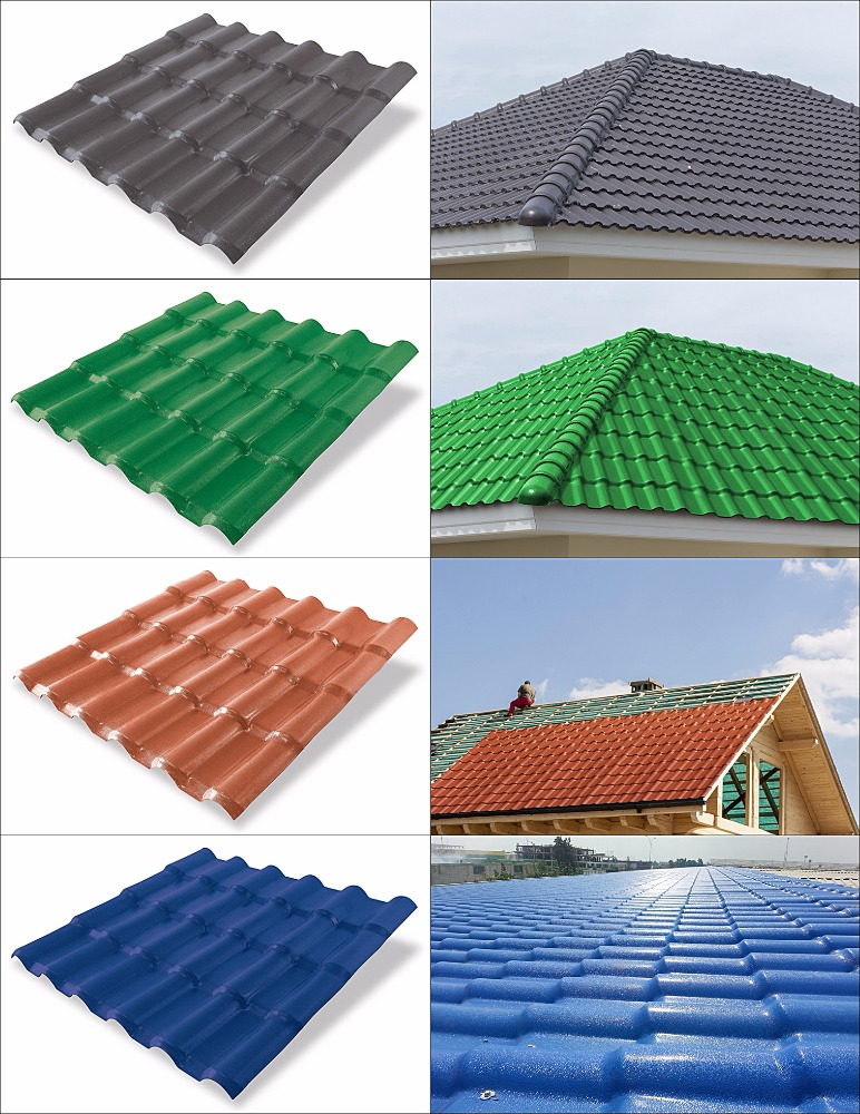 IZOTILE SYNTHETIC RESIN ROOF TILE
