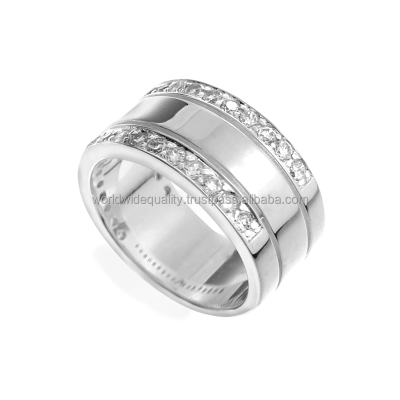 Astonish CZ 925 silver german silver items latest silver ring design