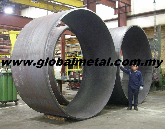 Customize Sizes and Various Grade Gas Large Metal Cylinder Container Fabrication with Warranty by Manufacturer