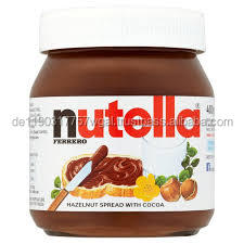 350 g,450g,500g ferrero Nutella chocolate