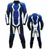 Motorcycle Racing Cow hide Leather Suit CE Approved Armours All Sizes