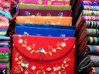 EMBROIDERY VIETNAM TRADITIONAL HANDBAG
