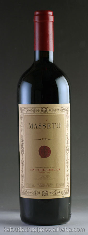 1996 Masseto italian wine brands red wine