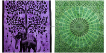 wholesale Lot Combo pieces Ethical Tree of Life Psychedelic Mandala Tapestry Bedspread Twin Wall Hanging Beach Throw Art Decor