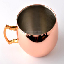 stainless steel moscow mule copper mug 16oz and 14 - Ounce